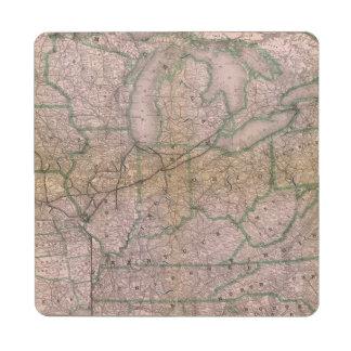 Great Wabash System Puzzle Coaster