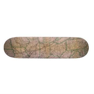 Great Wabash System Skateboard Deck