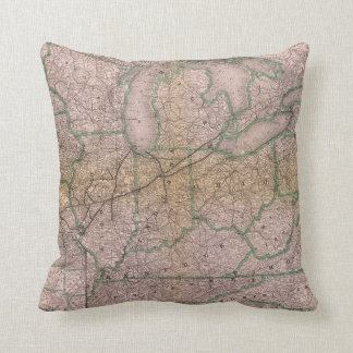 Great Wabash System Throw Pillow