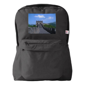 Great Wall in China American Apparel™ Backpack