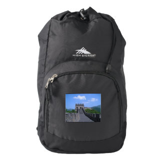Great Wall in China Backpack