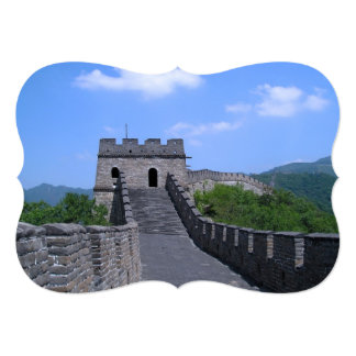 Great Wall in China Card