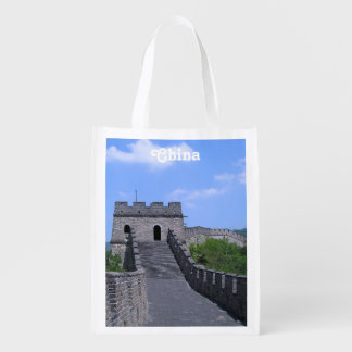 Great Wall in China Grocery Bag