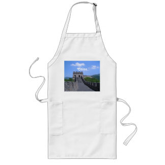 Great Wall in China Long Apron