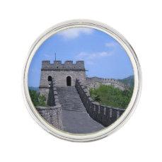 Great Wall in China Pin