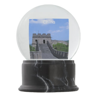 Great Wall in China Snow Globe