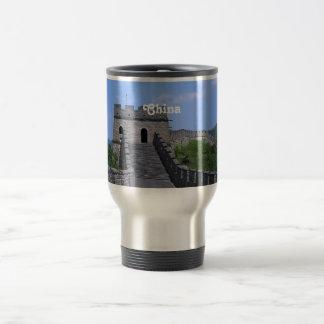 Great Wall in China Travel Mug