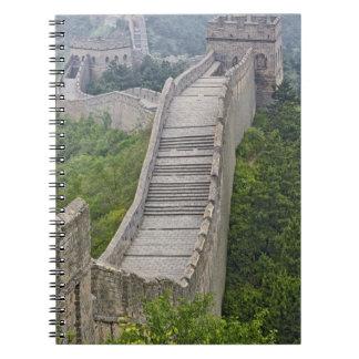 Great Wall, Jinshanling, China Notebook