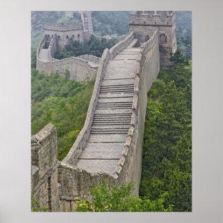 Great Wall, Jinshanling, China Posters