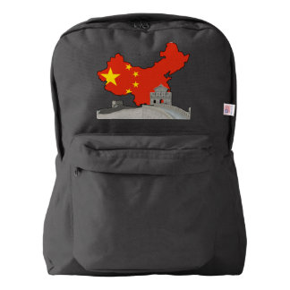 Great wall of China American Apparel™ Backpack