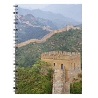 Great Wall of China at Jinshanling, China. 2 Notebook