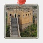 Great Wall of China at Jinshanling, China, Asia 2 Metal Ornament