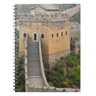 Great Wall of China at Jinshanling, China, Asia 2 Notebook