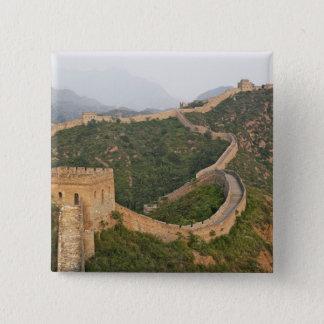 Great Wall of China at Jinshanling, China, Asia Pinback Button
