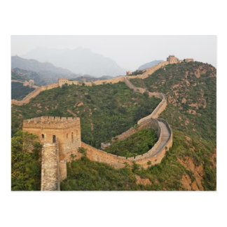 Great Wall of China at Jinshanling, China, Asia Postcard
