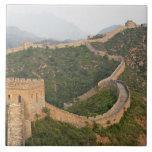 Great Wall of China at Jinshanling, China, Asia Tile