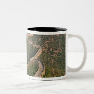 Great Wall of China at Jinshanling, China, Asia Two-Tone Coffee Mug