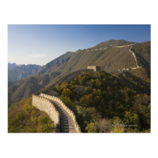 Great Wall of China at Mutianyu 2 Postcard