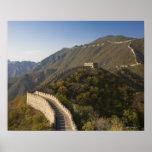 Great Wall of China at Mutianyu 2 Poster