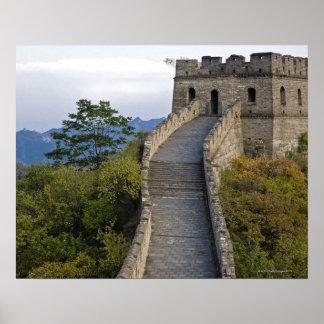Great Wall of China at Mutianyu 3 Poster