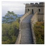 Great Wall of China at Mutianyu 3 Tiles