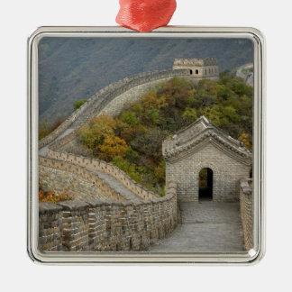 Great Wall of China at Mutianyu Metal Ornament