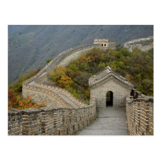 Great Wall of China at Mutianyu Postcard