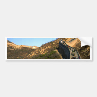 great wall of China Bumper Stickers