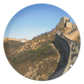 great wall of China Dinner Plates