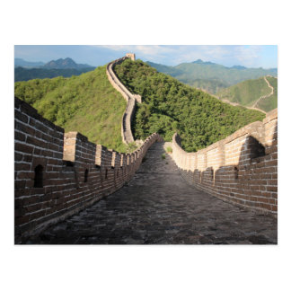 Great Wall of China - Huanghuacheng Postcard