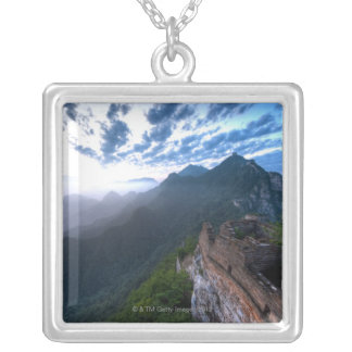 Great Wall of China, JianKou unrestored section. 2 Silver Plated Necklace