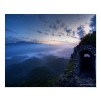 Great Wall of China, JianKou unrestored section. 3 Poster