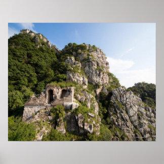 Great Wall of China, JianKou unrestored section. 4 Poster
