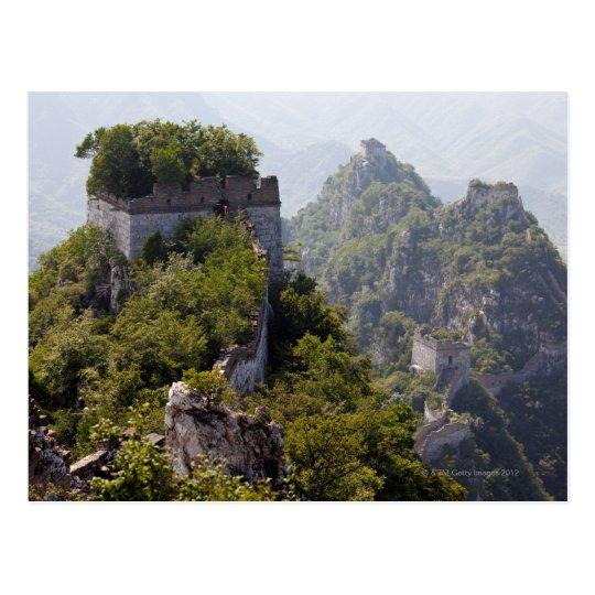 Great Wall of China, JianKou unrestored section. 5 Postcard