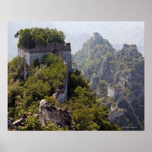 Great Wall of China, JianKou unrestored section. 5 Poster
