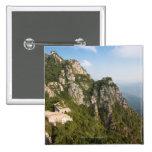 Great Wall of China, JianKou unrestored section. 6 Pinback Button