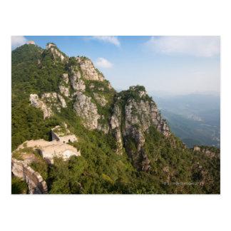 Great Wall of China, JianKou unrestored section. 6 Postcard