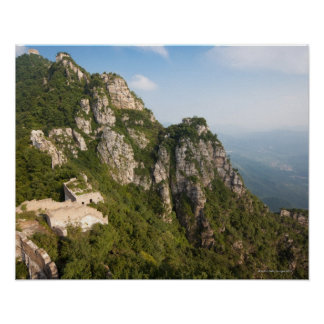 Great Wall of China, JianKou unrestored section. 6 Poster
