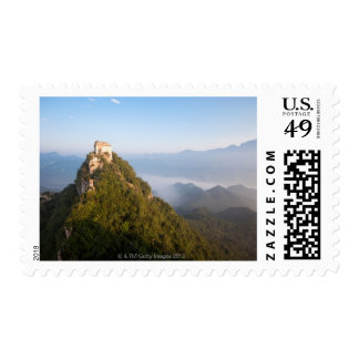 Great Wall of China, JianKou unrestored section. 7 Postage Stamp