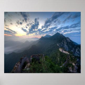 Great Wall of China, JianKou unrestored section. 8 Poster