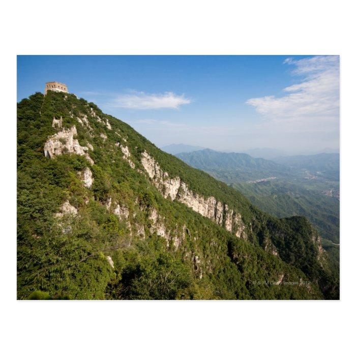Great Wall of China, JianKou unrestored section. 9 Postcard
