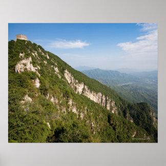 Great Wall of China, JianKou unrestored section. 9 Poster