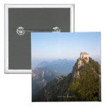 Great Wall of China, JianKou unrestored section. Button