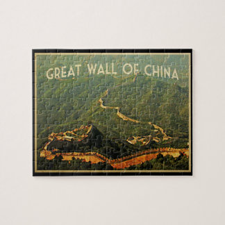 Great Wall Of China Jigsaw Puzzle