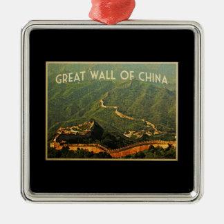 Great Wall Of China Christmas Ornaments