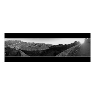 Great Wall of China Panoramic Posters