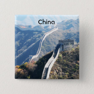 Great Wall of China Pinback Button