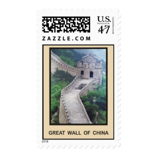 Great Wall of China Postage Stamp