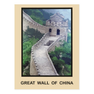 Great Wall of China Postcard