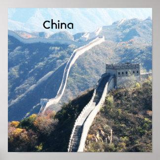 Great Wall of China Poster
